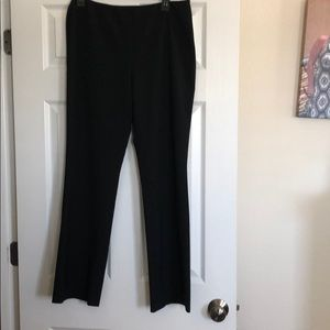 Theory size 10 black dress pants